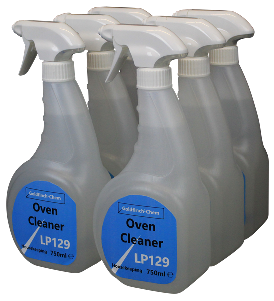 Goldfinch Oven Cleaner Trigger 6 x 750ml LP129