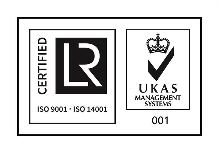NEW   UKAS AND ISO 9001 AND ISO 14001 CMYK