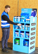 Vinco®-Stand Wipe Floor Stand
