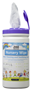 Vinco Nursery Wipe