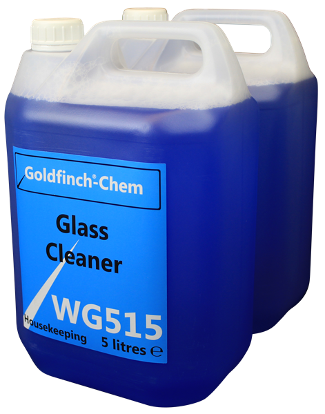 Goldfinch Glass Mirror and VDU Cleaner 2 x 5 Litre WG515