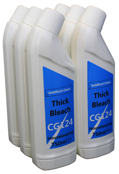 Goldfinch Thick Bleach Angled Neck 6x750ml CG124